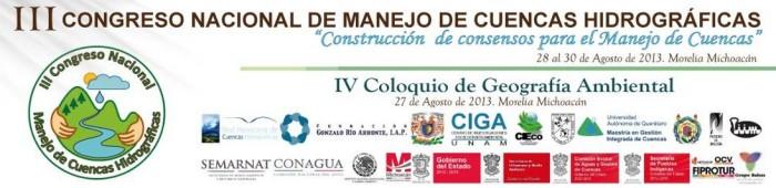 LOGO III Congreso Nacional de Manejo de Cuencas Hidrográficas