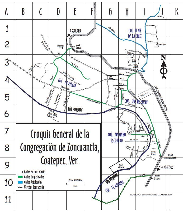 Asociaci n de vecinos del pixquiac zoncuantla a c for El croquis pdf