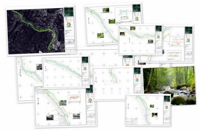 Collage de los Planos Topograficos