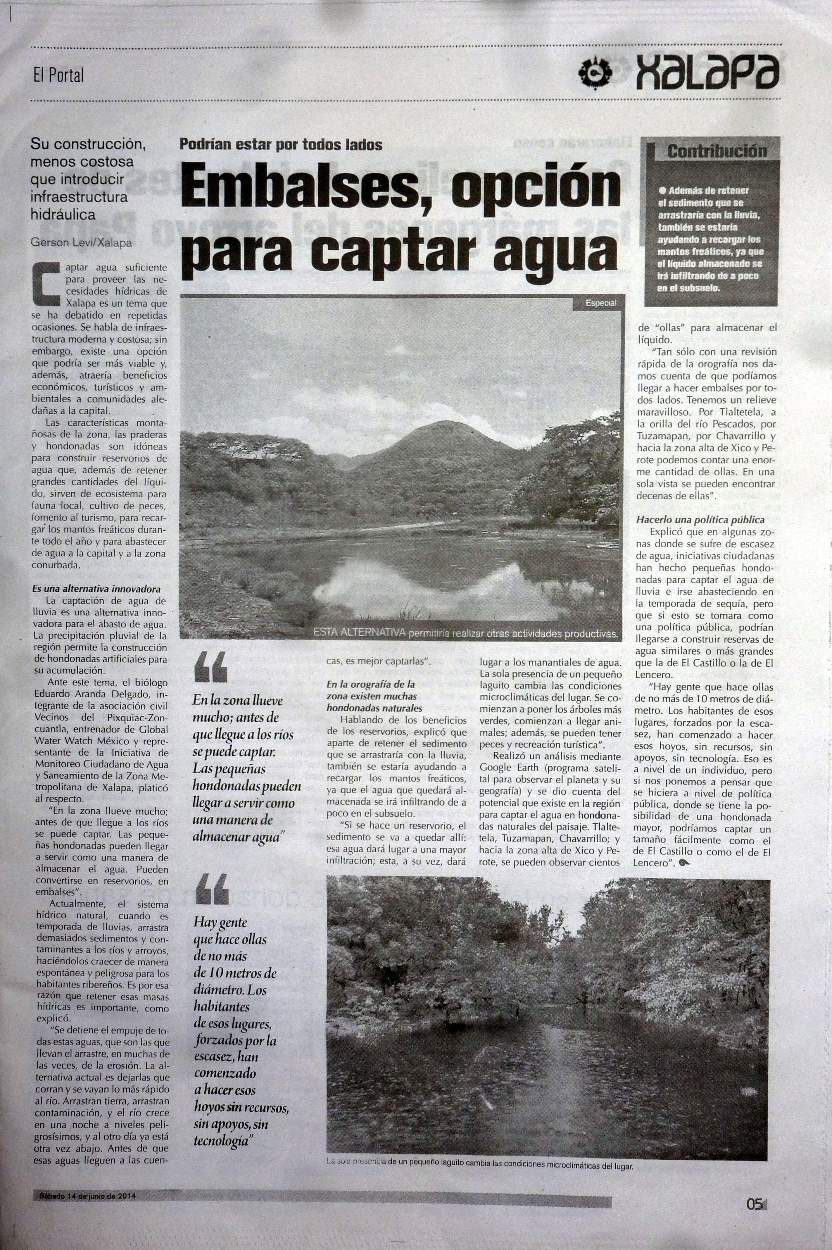 Embalses de Agua El Portal 2
