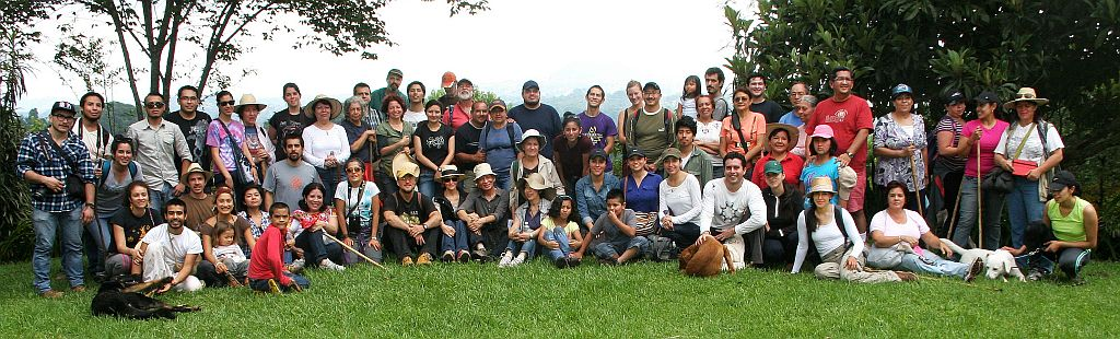 Foto del Grupo Caminante al ANP